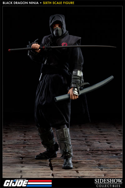 GI Joe Black Dragon Ninja Sixth Scale Figure By Sideshow