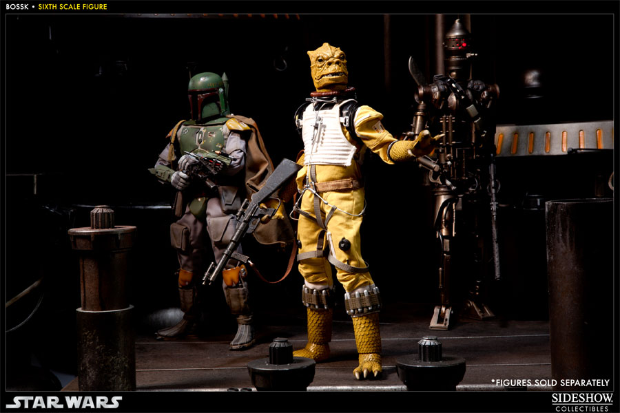 Star Wars Bossk Sixth Scale Figure By Sideshow