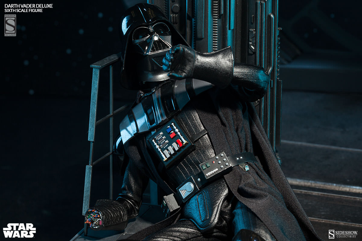 star wars darth vader deluxe sixth scale figure by. Black Bedroom Furniture Sets. Home Design Ideas