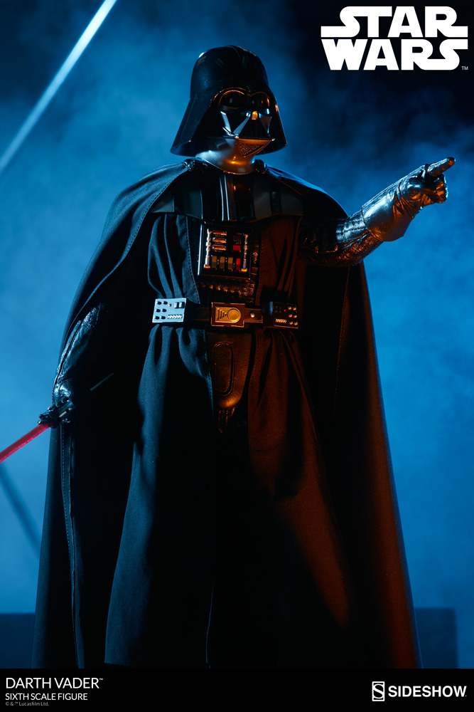 Star Wars Darth Vader Sixth Scale Figure by Sideshow Collect ...
