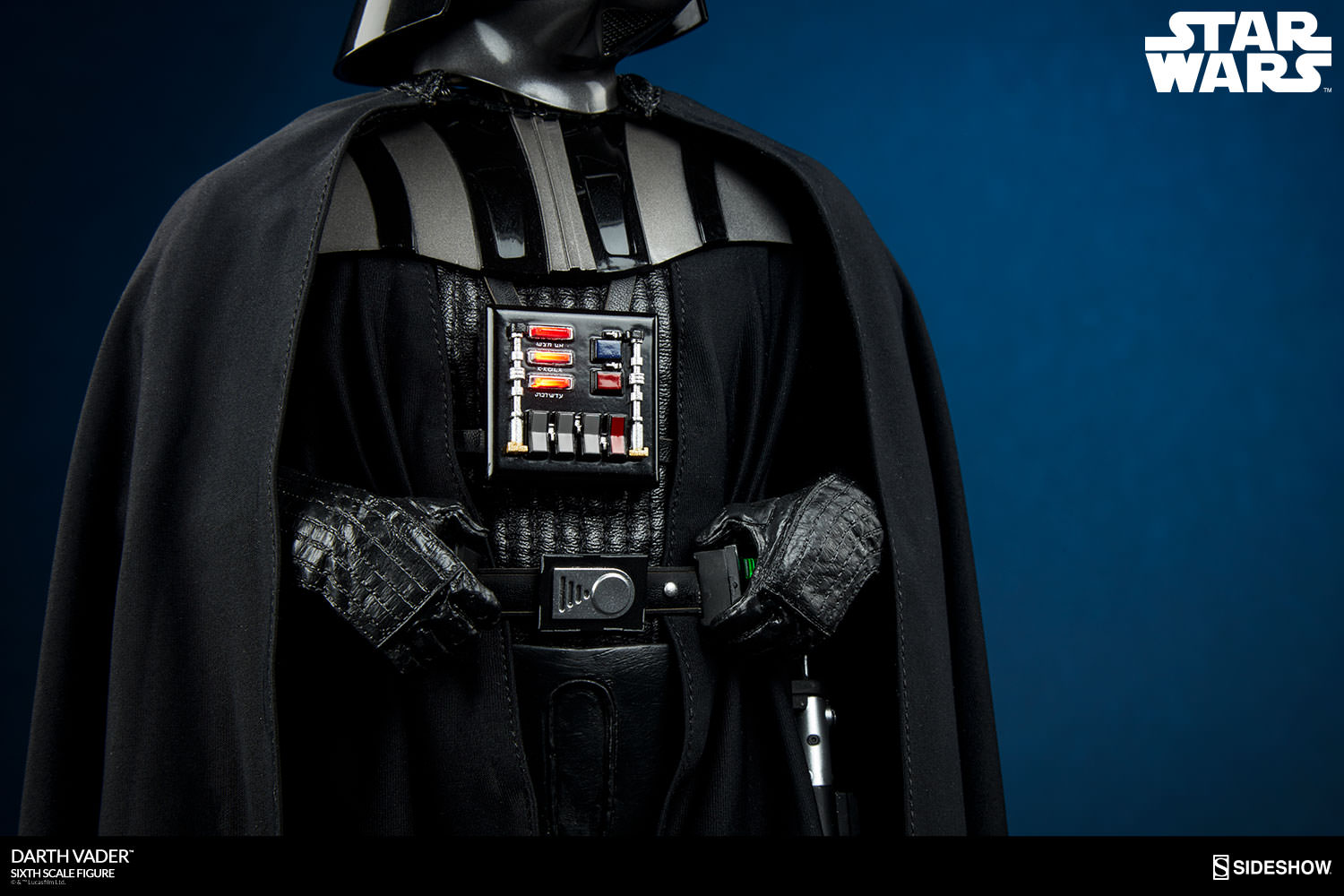 star wars darth vader sixth scale figure by sideshow. Black Bedroom Furniture Sets. Home Design Ideas