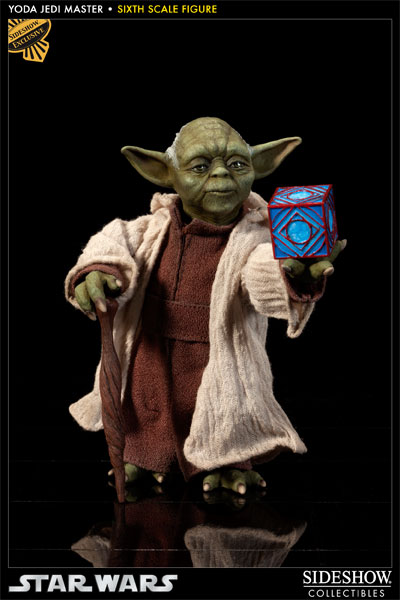 star wars yoda jedi master sixth scale figure by sideshow c sideshow collectibles. Black Bedroom Furniture Sets. Home Design Ideas