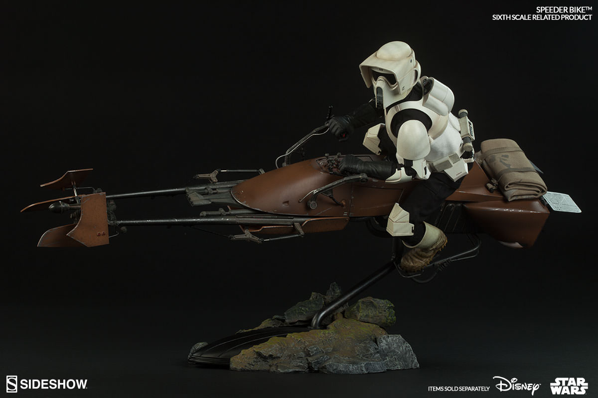 Star Wars Speeder Bike Sixth Scale Figure Related Product By