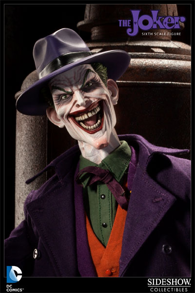 DC Comics The Joker Sixth Scale Figure by Sideshow Collectib ...