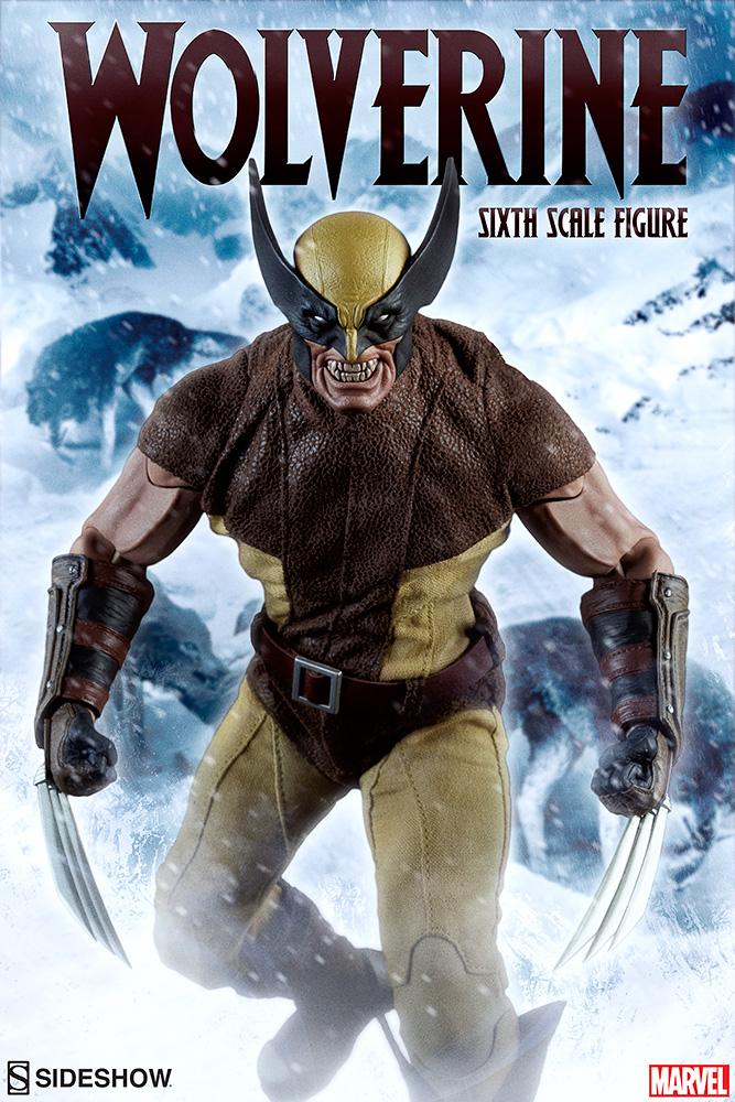 MARVEL - WOLVERINE Marvel-wolverine-sixth-scale-100176-01
