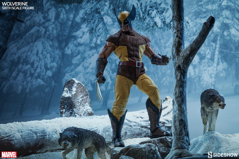 MARVEL - WOLVERINE Marvel-wolverine-sixth-scale-100176-02