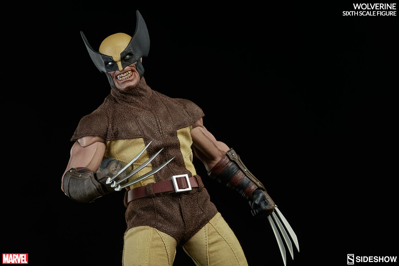 MARVEL - WOLVERINE Marvel-wolverine-sixth-scale-100176-03