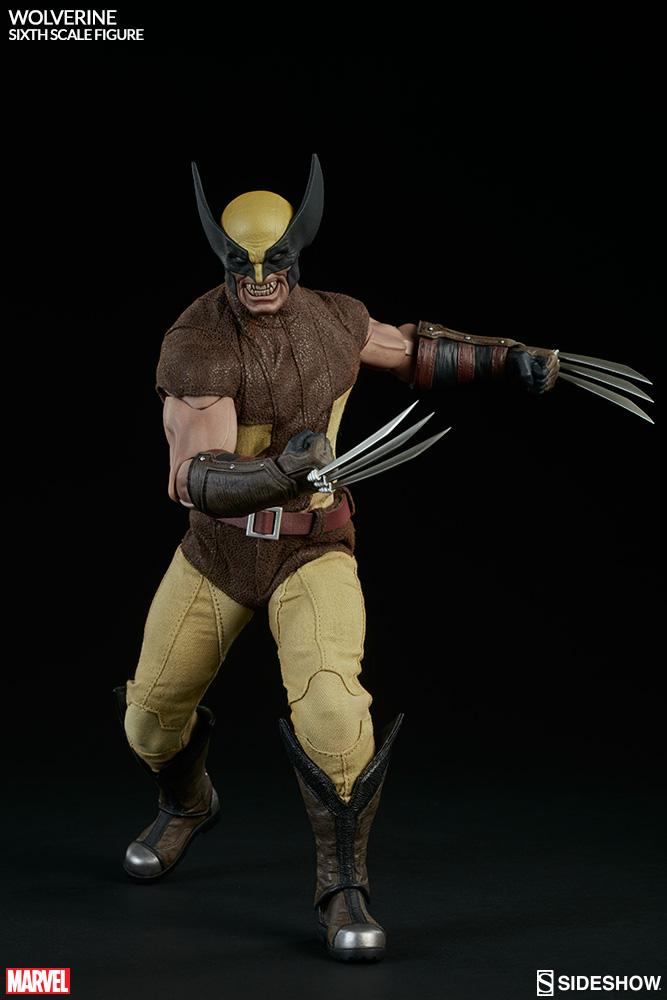 MARVEL - WOLVERINE Marvel-wolverine-sixth-scale-100176-04