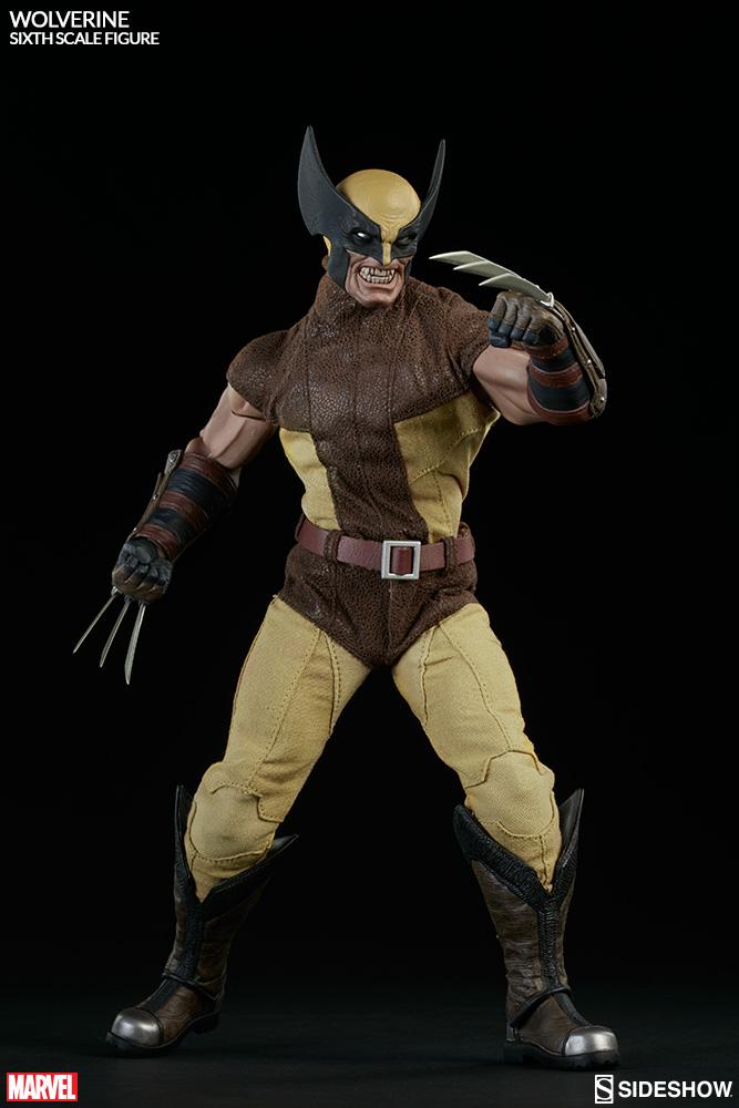 MARVEL - WOLVERINE Marvel-wolverine-sixth-scale-100176-05