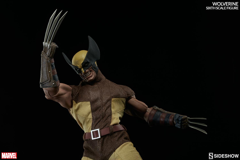 MARVEL - WOLVERINE Marvel-wolverine-sixth-scale-100176-06