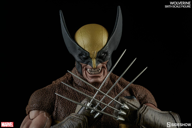 MARVEL - WOLVERINE Marvel-wolverine-sixth-scale-100176-07
