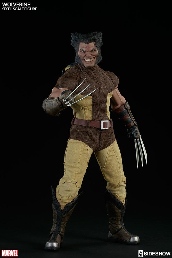MARVEL - WOLVERINE Marvel-wolverine-sixth-scale-100176-09