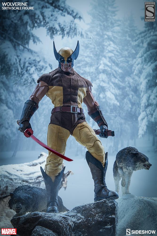 MARVEL - WOLVERINE Marvel-wolverine-sixth-scale-1001761-01
