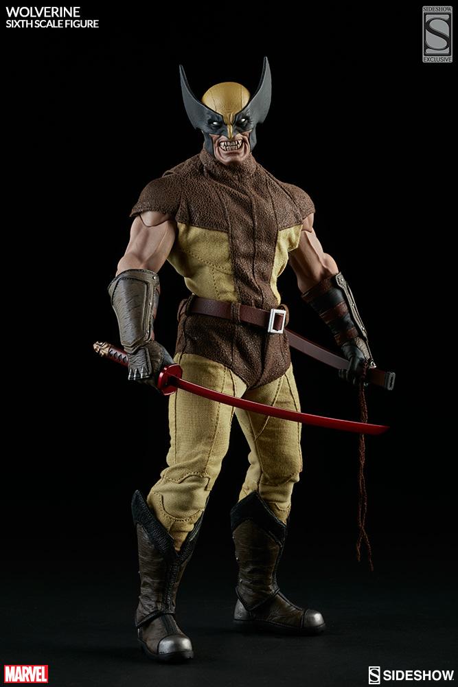 MARVEL - WOLVERINE Marvel-wolverine-sixth-scale-1001761-02