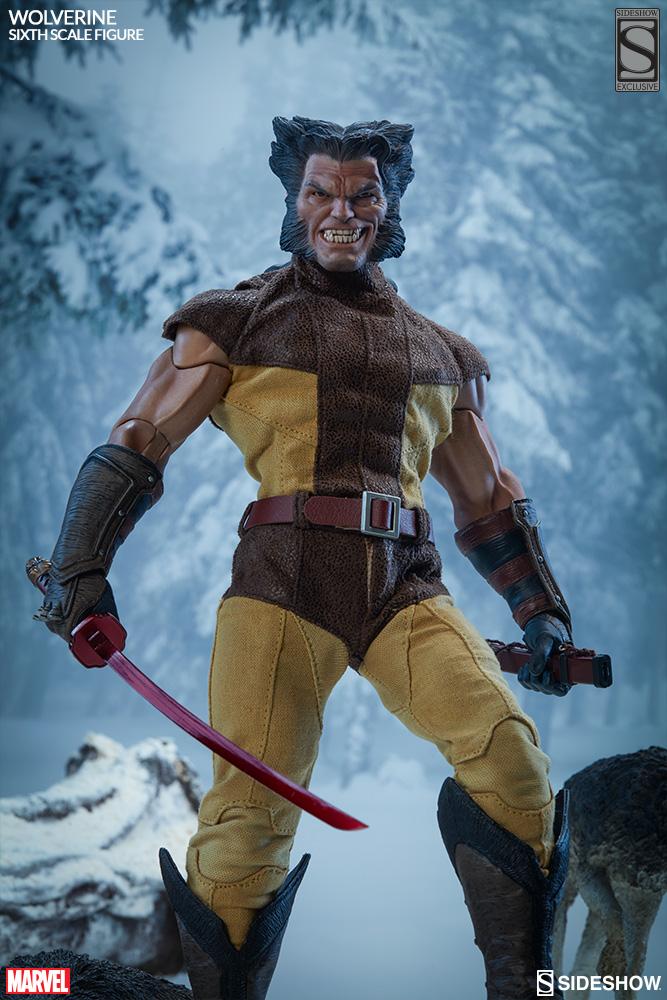MARVEL - WOLVERINE Marvel-wolverine-sixth-scale-1001761-04