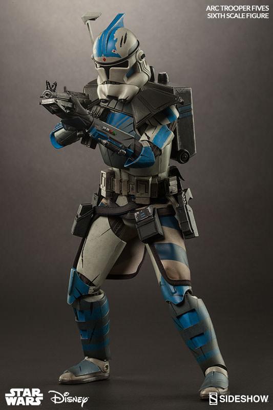 Star Wars Arc Clone Trooper: Fives Phase II Armor Sixth ...