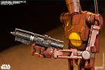 Geonosis Commander Battle Droid and Count Dooku Hologram Sixth Scale Figure Set