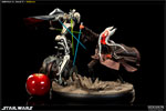 'Hunt for the Jedi' - Shaak Ti VS General Grievous Polystone Diorama