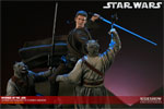 Revenge of the Jedi - Anakin Skywalker VS Tusken Raiders Polystone Diorama