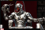 Classic Ultron on Throne Polystone Statue