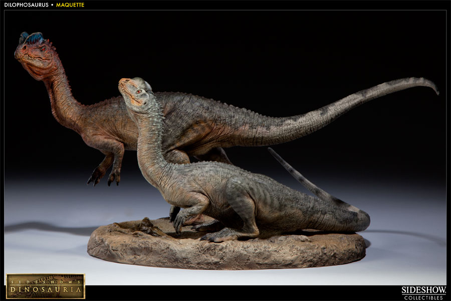 Dinosauria Dilophosaurus Maquette By Sideshow Collectibles