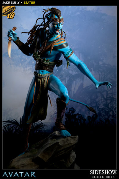 Avatar jake sully polystone statue by sideshow collectibles sideshow collectibles - Jake sully avatar ...