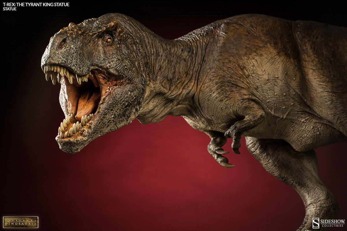 Dinosauria T-rex: The Tyrant King Statue by Sideshow Collec ...