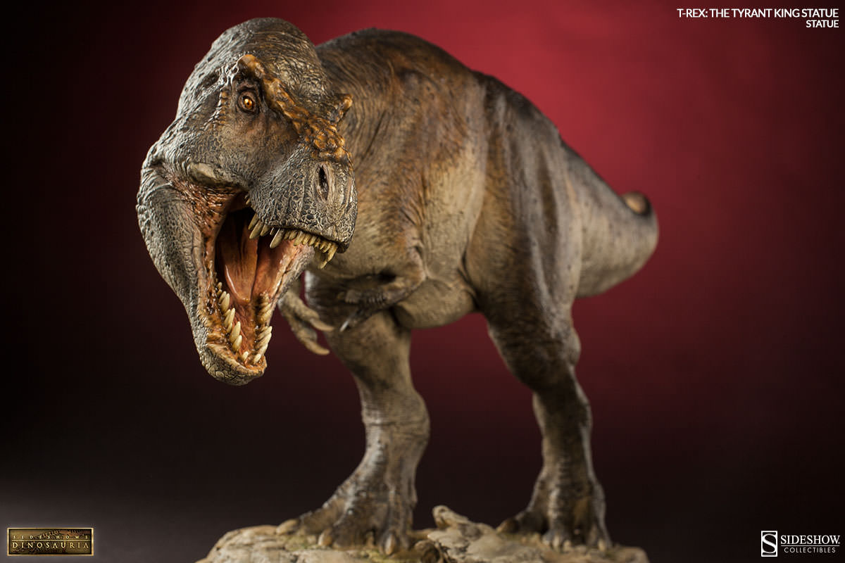 t rex Films like jurassic park have led us to believe that tyrannosaurus rex was capable of chasing down its prey at full tilt new research done with simulations suggest this dino was no sprinter, and that it couldn't move any faster than a brisk walk well, a brisk walk for a nine ton carnivore at a top speed of 12.