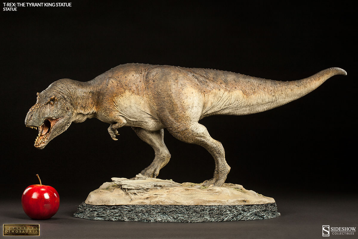 Dinosauria t rex the tyrant king statue by sideshow for Tyranosaurus rex