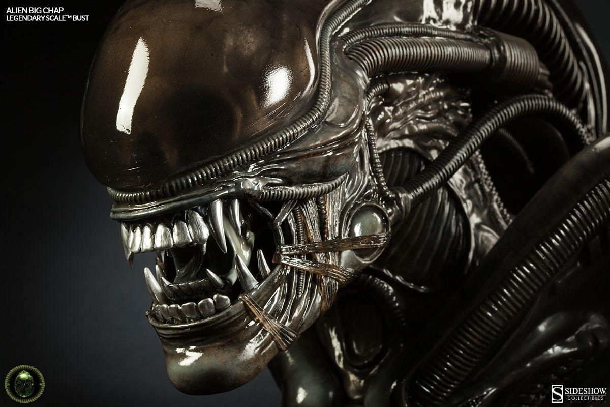 Alien Big Chap 005 Legendary Scaletm Bust Sideshow Collectibles