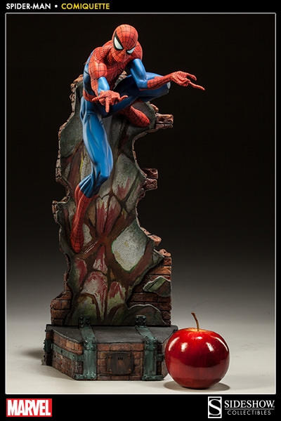 figurine spiderman sideshow