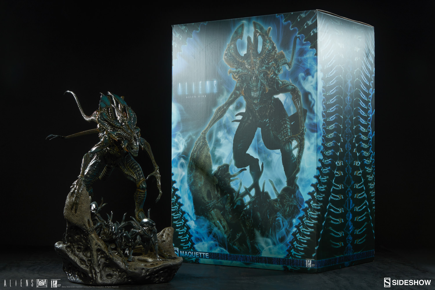 alien alien king maquette by sideshow collectibles sideshow