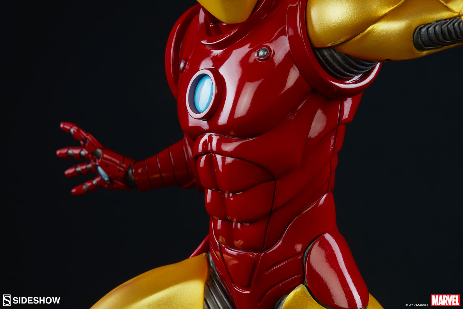 Marvel iron man statue by sideshow collectibles sideshow collectibles - Image de iron man ...