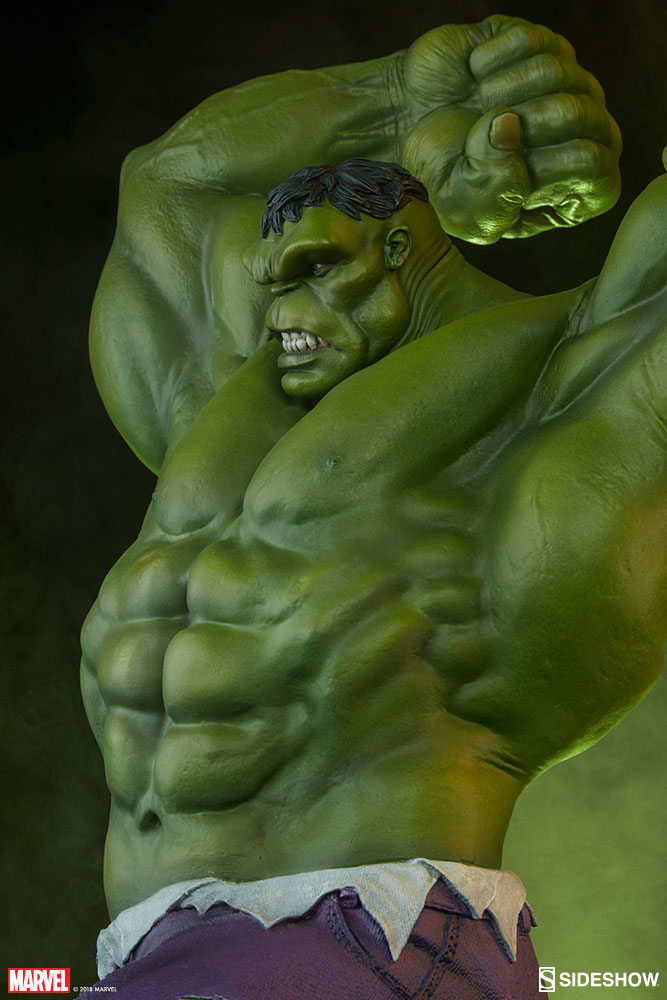 It is a graphic of Clever Picture of the Hulk
