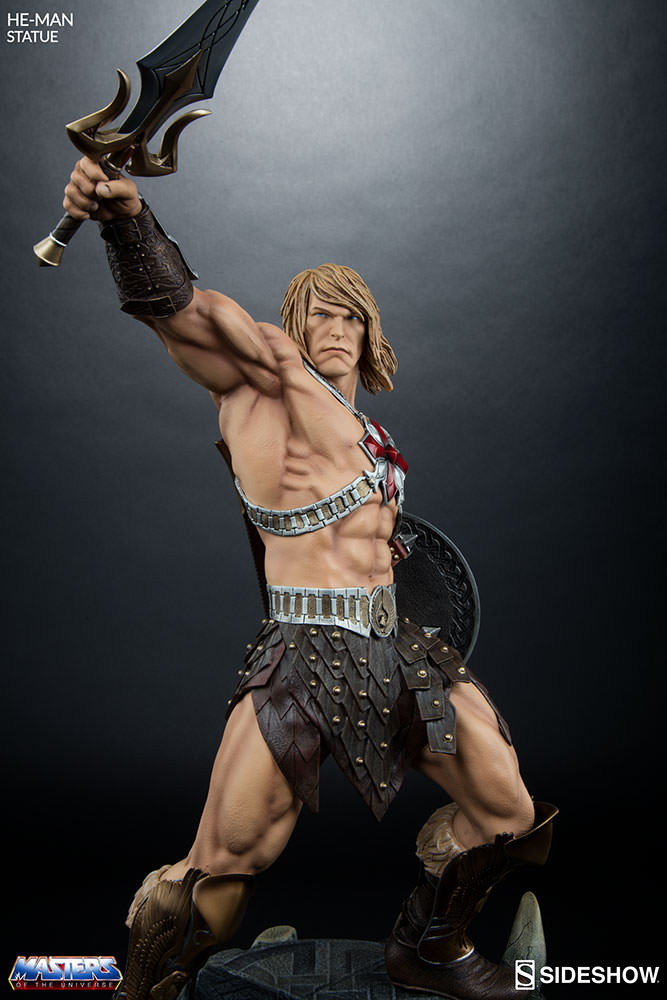 Future Man Series >> Masters of the Universe HeMan Statue by Sideshow Collectible | Sideshow Collectibles