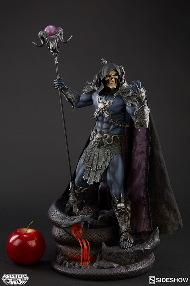 Masters Of The Universe Sideshow Skeletor