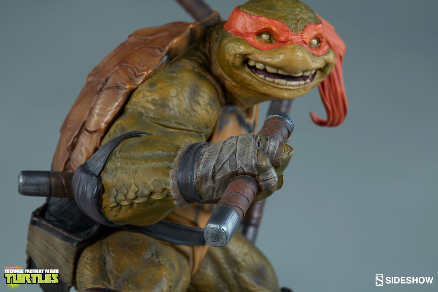 TMNT Michelangelo Statue By Sideshow Collectibles