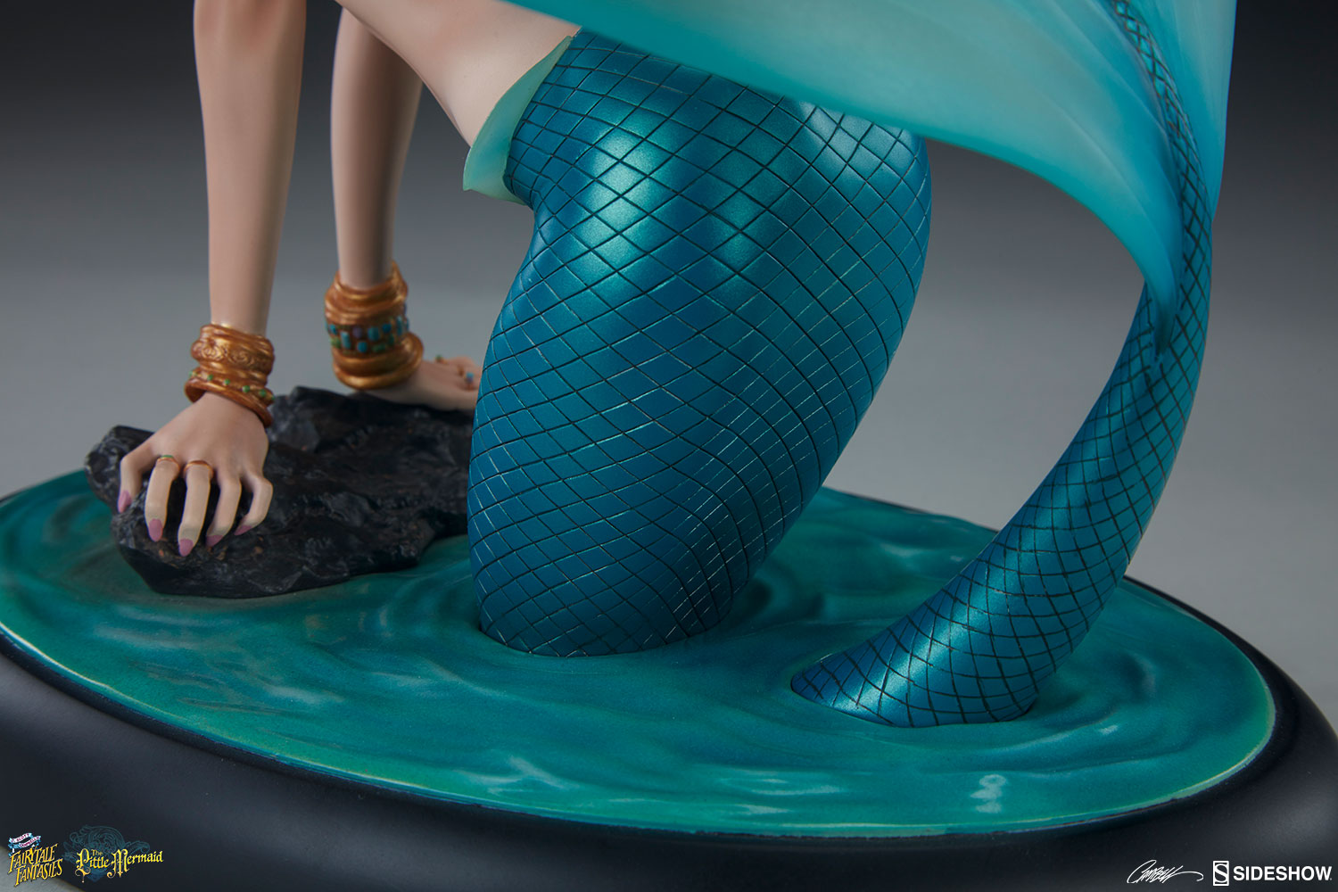 J Scott Campbell The Little Mermaid Statue By Sideshow