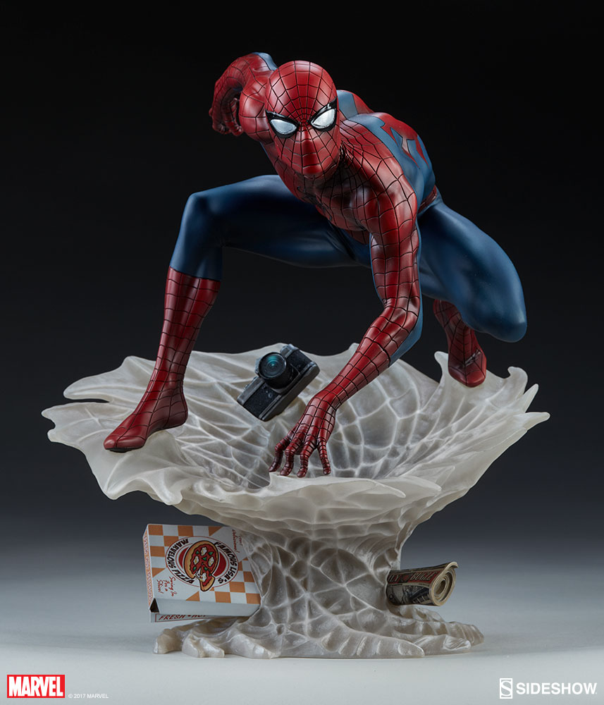 Marvel Spider Man Statue By Sideshow Collectibles