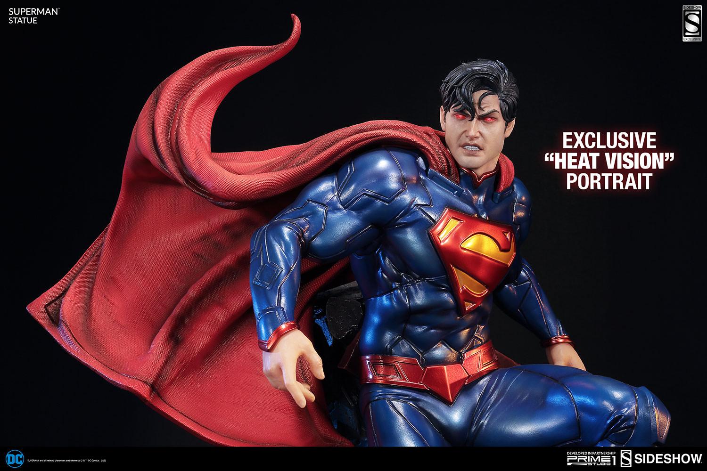 DC Comics Superman Polystone Statue by Prime 1 Studio Sideshow