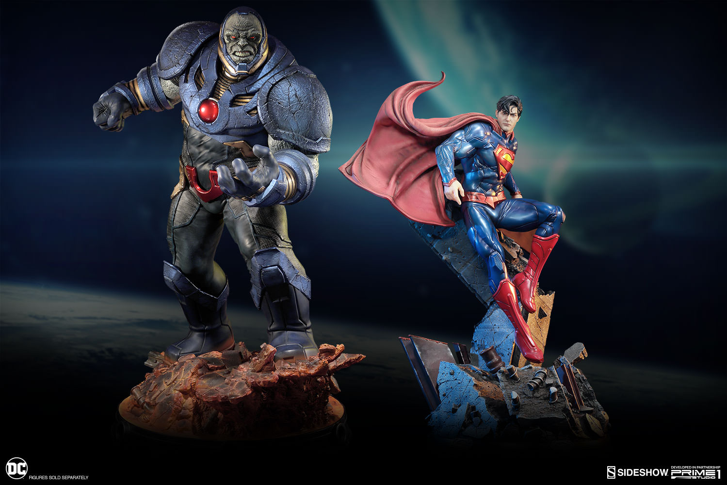 DC Comics Darkseid Statue by Sideshow Collectibles ...