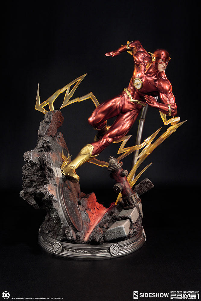 DC Comics The Flash Statue by Sideshow Collectibles ...