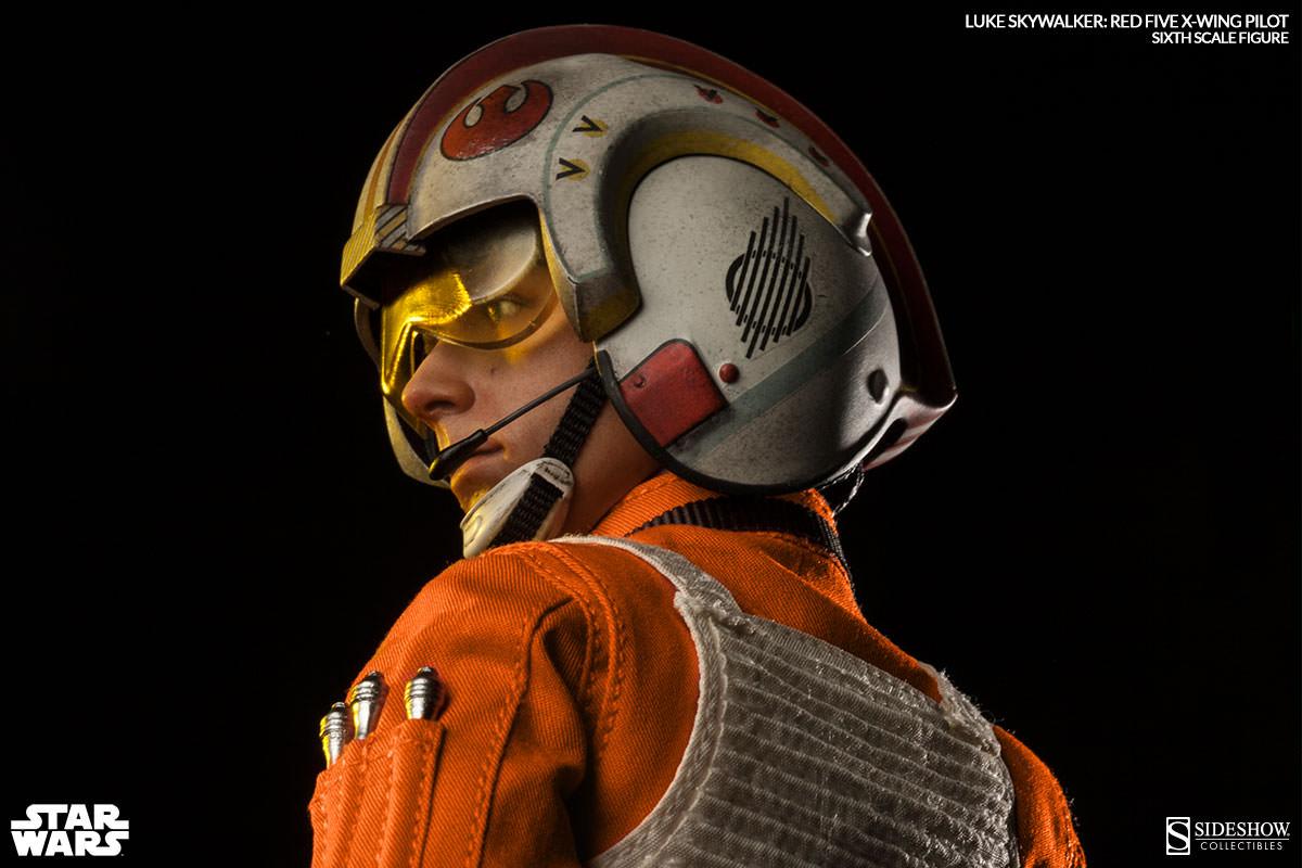 [Sideshow] Star Wars: Luke Skywalker: Red Five X-Wing Pilot Sixth Scale Figure 2132-luke-skywalker-red-five-x-wing-pilot-002