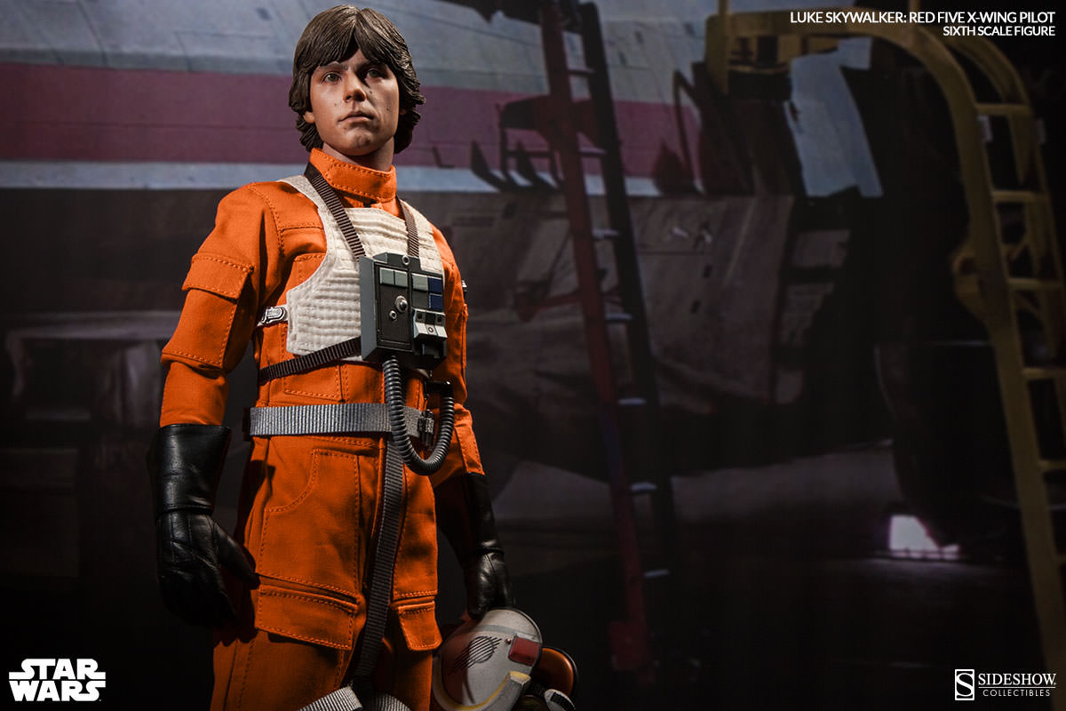 [Sideshow] Star Wars: Luke Skywalker: Red Five X-Wing Pilot Sixth Scale Figure 2132-luke-skywalker-red-five-x-wing-pilot-004