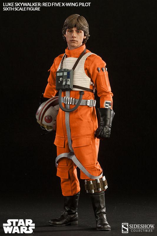[Sideshow] Star Wars: Luke Skywalker: Red Five X-Wing Pilot Sixth Scale Figure 2132-luke-skywalker-red-five-x-wing-pilot-005
