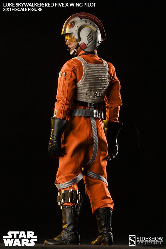 [Sideshow] Star Wars: Luke Skywalker: Red Five X-Wing Pilot Sixth Scale Figure 2132-luke-skywalker-red-five-x-wing-pilot-007