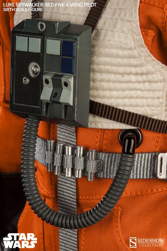 [Sideshow] Star Wars: Luke Skywalker: Red Five X-Wing Pilot Sixth Scale Figure 2132-luke-skywalker-red-five-x-wing-pilot-009