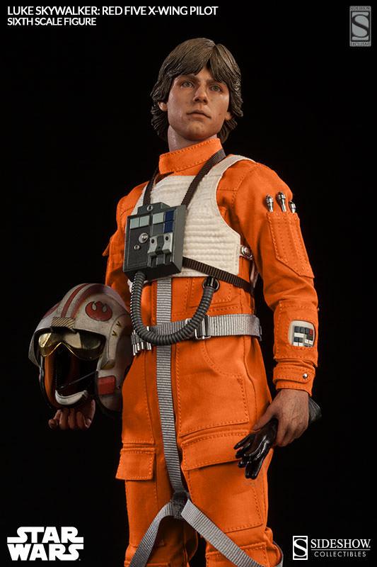[Sideshow] Star Wars: Luke Skywalker: Red Five X-Wing Pilot Sixth Scale Figure 21321-luke-skywalker-red-five-x-wing-pilot-001