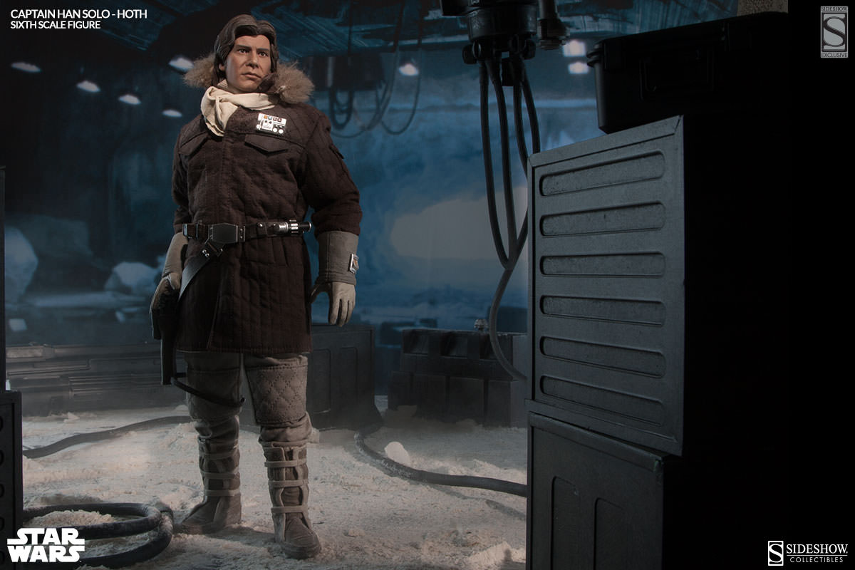 Han solo hoth figure sideshow collectibles - Vaisseau star wars han solo ...