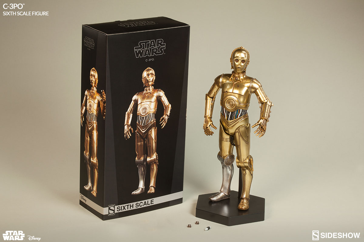 star wars c 3po sixth scale figure by sideshow collectibles sideshow collectibles. Black Bedroom Furniture Sets. Home Design Ideas